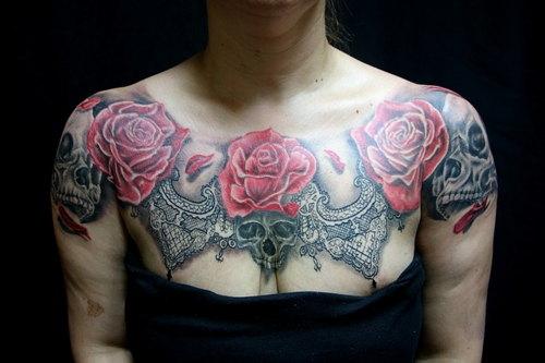 tatuajes rojo el más toxico