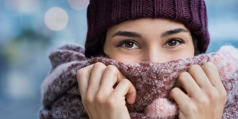 efecto del frio sobre la piel